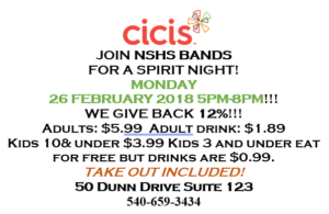 CiCi's Spirit Night @ CiCi's pizza